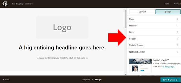 come-creare-landing-page-mailchimp